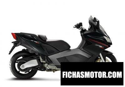 Ficha técnica Aprilia SRV 850 2020