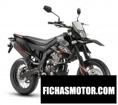 Ficha técnica Aprilia SX 125 2020