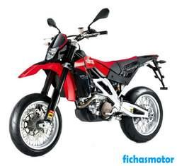 Imagen moto Aprilia sxv 550 2008