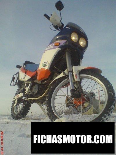 Ficha técnica Aprilia tuareg 600 wind 1988