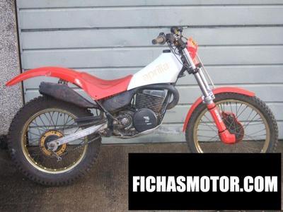 Ficha técnica Aprilia tx 125 1988