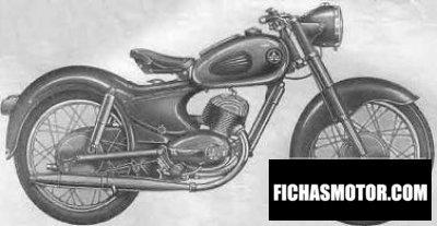 Ficha técnica Ardie bd 201 1954