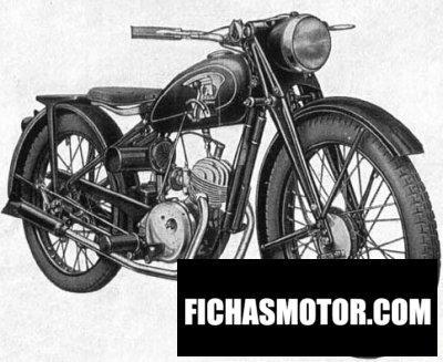 Ficha técnica Ardie ne 125 1948