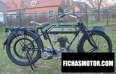 Ficha técnica Ariel 4 hp 1918