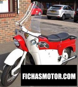 Imagen moto Ariel leader 1960