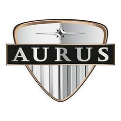 Logo de la marca Aurus