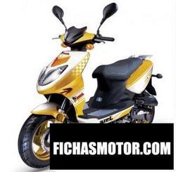 Imagen moto Azel aries 50 2010