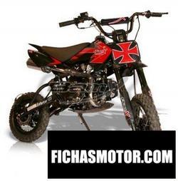 Imagen moto BamX BX125 DB1 Enforcer 2015
