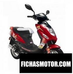 Imagen moto Baotian bt49qt 2017