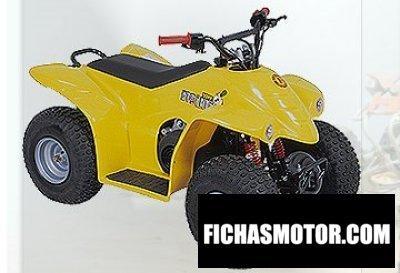 Imagen moto Barossa al5 año 2009