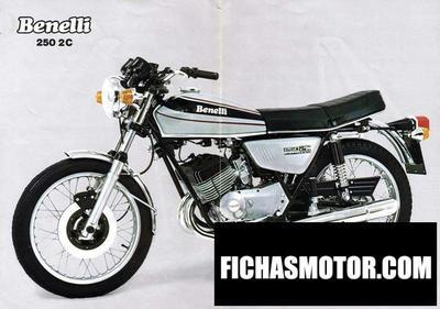 Imagen moto Benelli 250 2 c año 1975