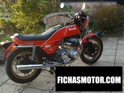Imagen moto Benelli 900 sei año 1979