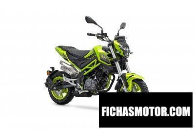 Imagen moto Benelli Tornado Naked T 125 año 2020