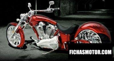 Imagen moto Big Bear Choppers Sled ProStreet 100 Carb año 2009