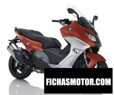Imagen moto Bmw c 650 sport año 2017