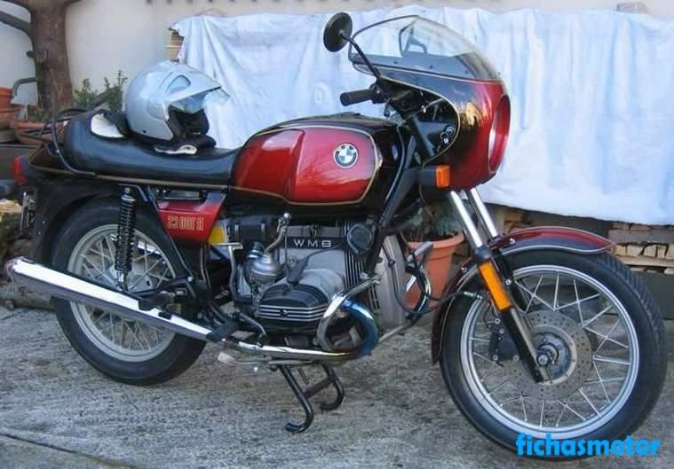 Ficha técnica Bmw r 100 cs 1980