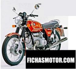 Motorcycle image Bmw r 90-6 1973