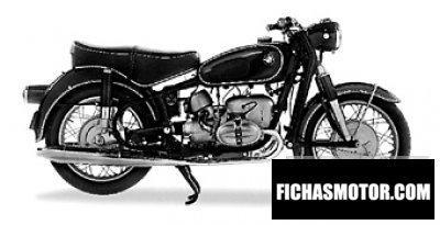 Imagen moto Bmw r69s año 1964