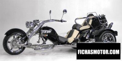 Ficha técnica Boom Trikes Classic low rider 2010