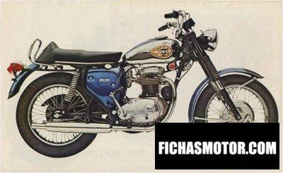 Ficha técnica Bsa a 50 royal star 1969