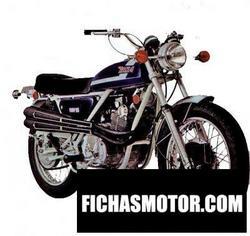 Imagen moto Bsa fury 350 1971
