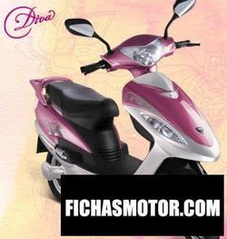 Imagen moto Bsa motors diva 2011