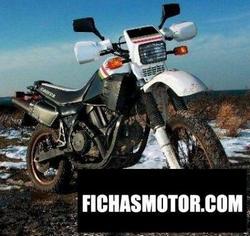 Imagen moto Cagiva 650 elefant 1987