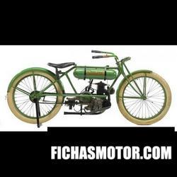 Imagen de Cleveland lighweight engine no.286 año 1923