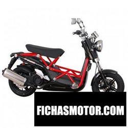 Imagen moto Daelim b-bone 125 2013