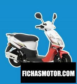 Imagen moto Daelim cordi 50 2011