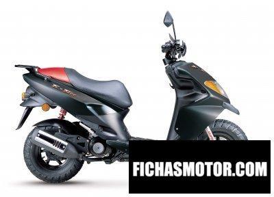 Imagen moto Daelim e-five ats año 2006