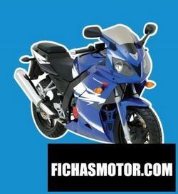 Imagen moto Daelim roadsport 125 2011