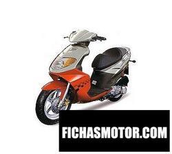 Imagen moto Daelim s-five 2009
