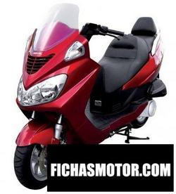 Imagen moto Daelim s2 125 2006