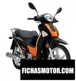 Imagen moto Dafier cub 125 2011