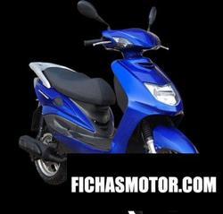 Imagen moto Dafier scooterone 125 2010