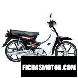 Imagen moto Demak ex 90 2011