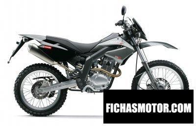 Imagen moto Derbi senda baja 125 4t año 2007