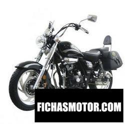 Imagen moto Dinamo Custom 150 2020