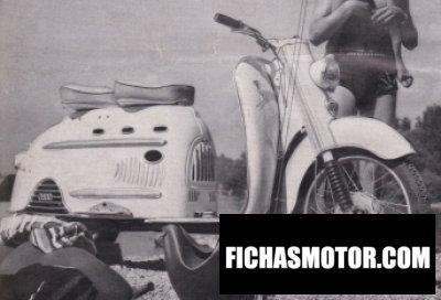 Imagen moto Dkw hobby luxus año 1955