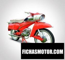Imagen moto Dkw hummel 155 1965