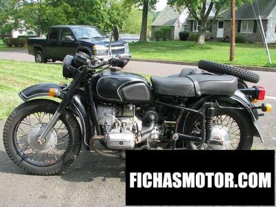 Ficha técnica Dnepr mt 10 (with sidecar) 1982