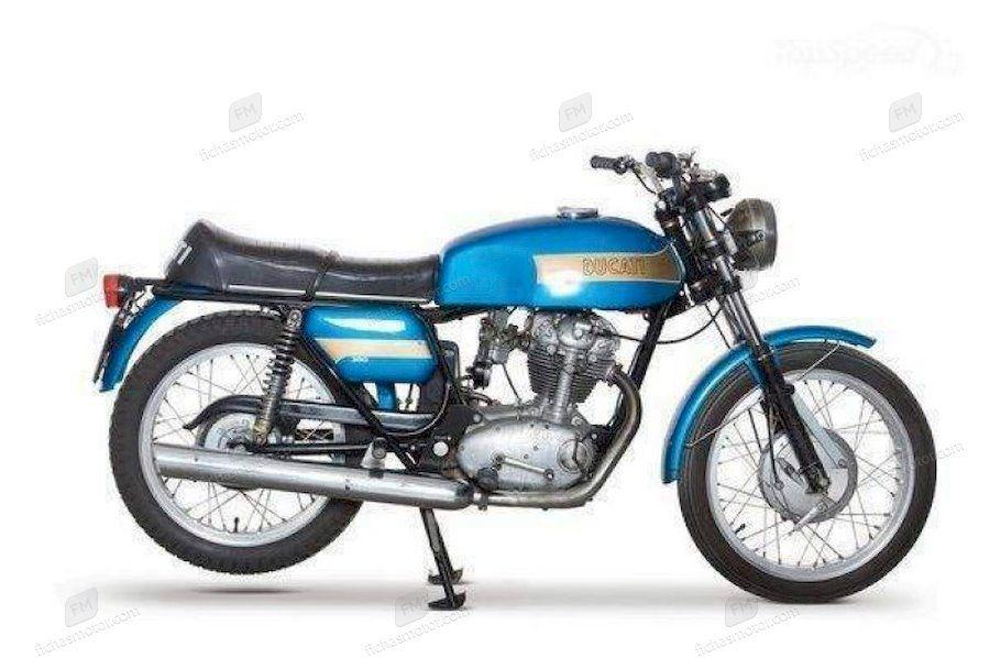 Ficha técnica Ducati 250 mark 3 d 1970