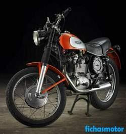 Imagen de Ducati 350 scrambler año 1974