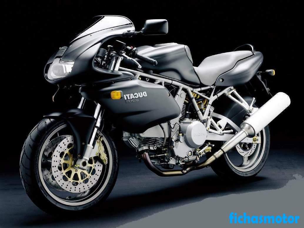 Ficha técnica Ducati 800 sport 2003