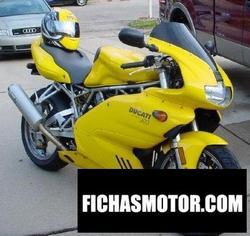 Imagen moto Ducati 900 ss nuda 2001