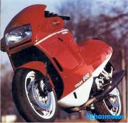Imagen moto Ducati 906 paso 1990
