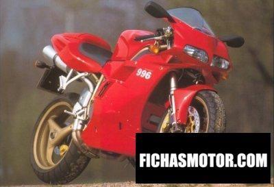 Imagen moto Ducati 996 biposto año 1999