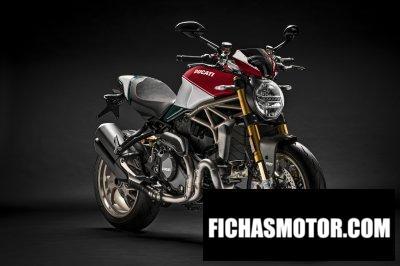 Ficha técnica Ducati Monster 1200 25 Anniversario 2019