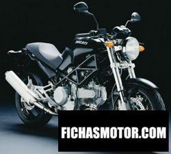 Imagen moto Ducati monster 620 dark 2005